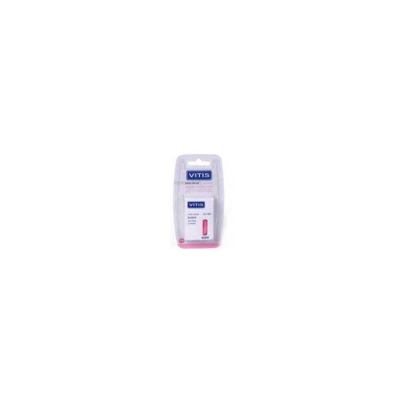 Vitis seda dental suave flúor/menta V3 50 m + 5 m gratis