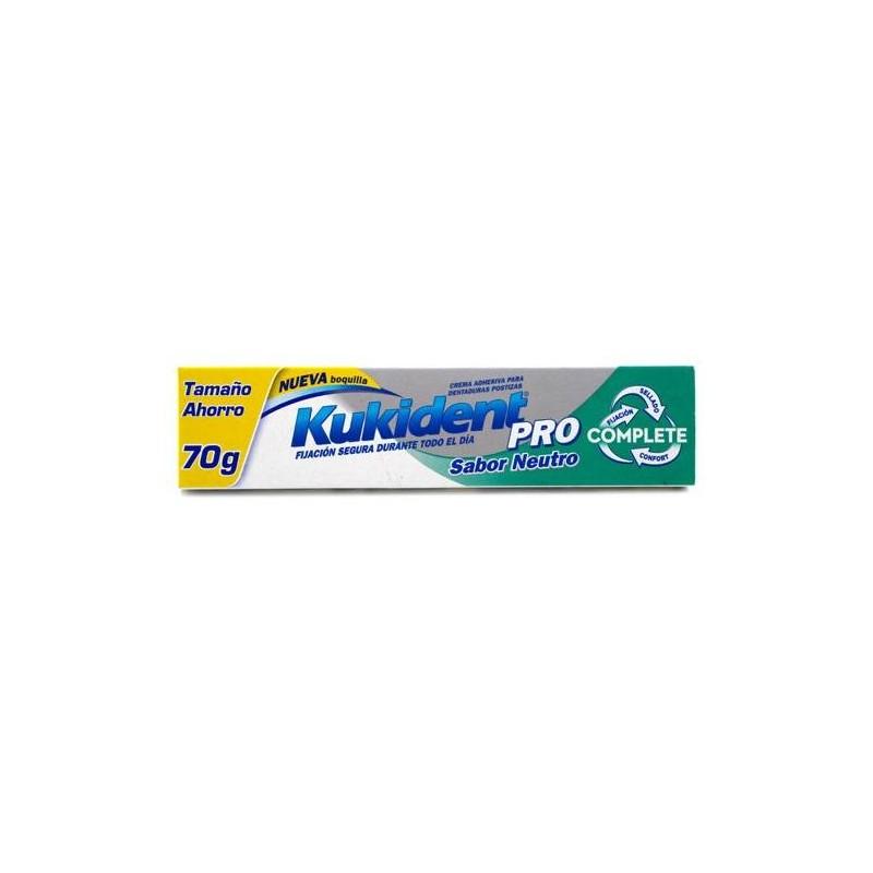 Kukident Complete Pro Sabor Neutro tamaño ahorro 70g