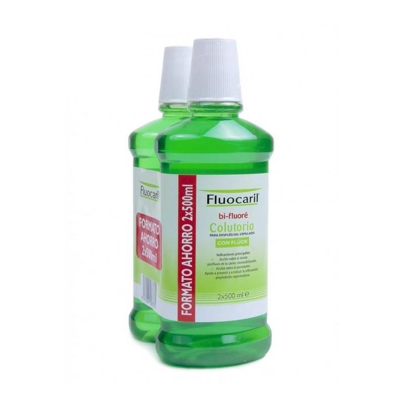 Fluocaril Bi-Fluore colutorio duplo 2x500 ml