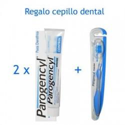 Parogencyl Control Duplo 75 ml x 2 + regalo cepillo