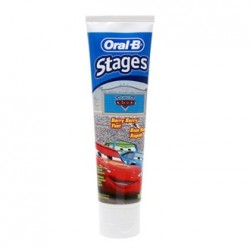 Oral B Pasta de dientes Stages Cars a partir de 6 años 75 ml
