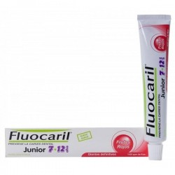 Fluocaril Junior pasta de dientes frutos rojos 50 ml