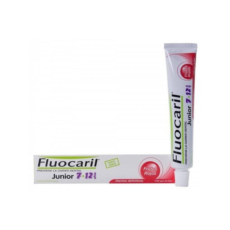 Fluocaril Junior pasta de dientes frutos rojos 50 ml