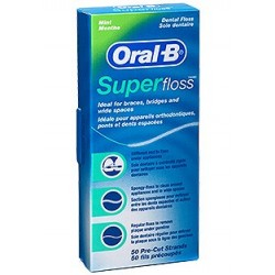 Oral B Seda dental Satin Floss 50 unidades