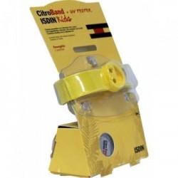 Isdin Citroband Kids Pulsera antimosquitos recargable con una pastilla + 1 recambio +UV tester