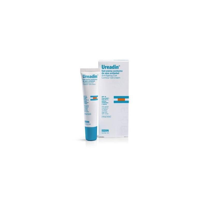 Isdin Ureadin gel-crema contorno de ojos antiedad SPF20 15 ml