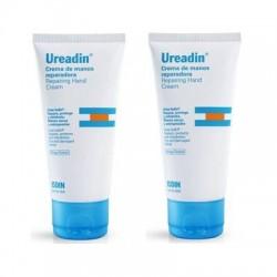 Isdin Ureadin Plus crema de manos reparadora duplo 2x50 ml