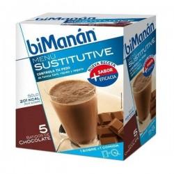 Bimanan Batido de Chocolate 5 sobres + 1 gratis