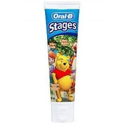 Oral B Pasta de dientes infantil Stage 2 Winnie the Pooh a partir de 6 años 75 ml