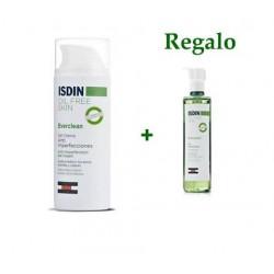 Isdin Everclean gel crema Anti-imperfecciones 50 ml + gel purificante 50 ml Pack