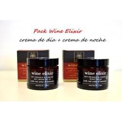 Apivita pack Wine Elixir crema de día 50 ml y crema de noche 50 ml