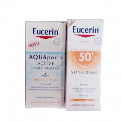 Eucerin crema facial SPF50+ 50 ml + regalo Aquaporin Active SPF15