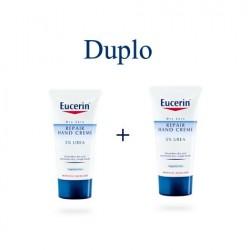 Eucerin crema de manos Reparadora con Urea duplo 2x75 ml
