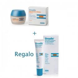 Isdin Ureadin crema facial hidratación intensa piel seca SPF20 50 ml + Regalo Ureadin contorno de ojos 15 ml