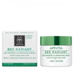 Apivita Bee Radiant crema antiedad iluminadora textura ligera 50 ml