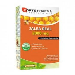 Forté Pharma Jalea Real 2000 mg 20 ampollas