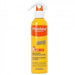 Mustela spray solar SPF50+ muy alta protección cara y cuerpo 300 ml