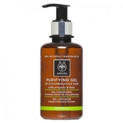 Apivita gel limpiador pieles grasas con propóleo y lima 200 ml