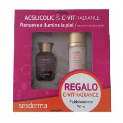 Sesderma Acglicolic Liposomal sérum 30 ml + regalo C-vit Radiance fluido 50 ml