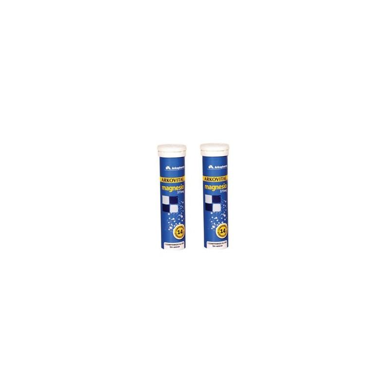 Arkopharma ArkoVital Magnesio 2x14 comprimidos efervescentes