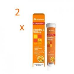 Arkopharma Arkovital vitamina C 2x20 comprimidos efervescentes