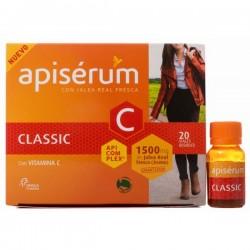 Apiserum Classic jalea real 1500 mg 20 viales