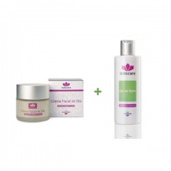Sales del Mar Menor con crema facial 50 ml + gel de baño 250 ml
