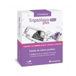Arkocápsulas Arko Relax Triptofano Plus 45 capsulas