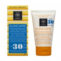 Apivita Suncare facial SPF30 piel grasa mixta 50 ml