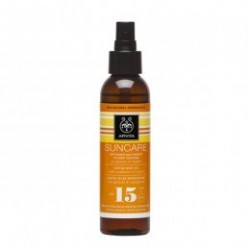 Apivita Suncare aceite SPF15 bronceador corporal 100 ml