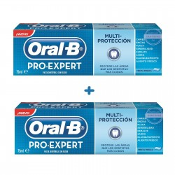 Pasta Oral B Pro Expert Multiprotección duplo 2x125 ml