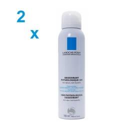 La Roche Posay desodorante fisiológico aerosol duplo 2x150 ml