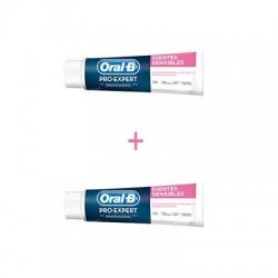 Oral B dientes sensibles pasta de dientes 2x125 ml