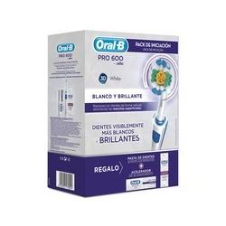 Oral B PRO 600 3D White pack de iniciación