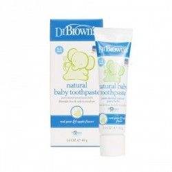 Dr. Brown´s Pasta de dientes natural sin flúor 40 g