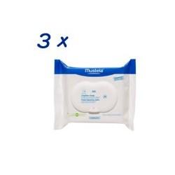 Mustela Toallitas para la cara pack de 3x25 unidades