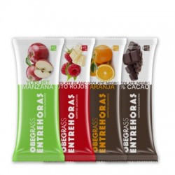 Actafarma barrita entrehoras chocolate y naranja 30 g