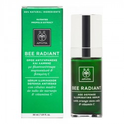 Apivita Bee Radiant Serum iluminador defensa antiedad 30 ml