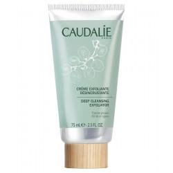 Caudalíe crema exfoliante desincrustante purifica y afina la textura de la piel 75 ml