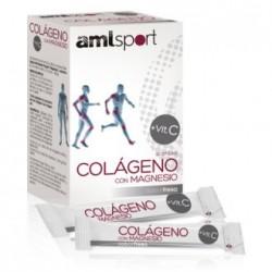 Ana María LaJusticia AMLSport Colágeno + Magnesio vitamina C 20 sticks