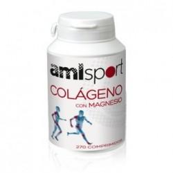 Ana Maria LaJusticia AMLSport colágeno + magnesio + vitamina C 270 comprimidos