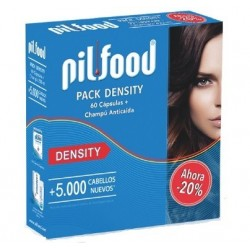 PilFood Density pack 60 cápsulas + champú anticaida 200 ml