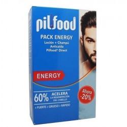 PilFood Energy pack Loción + champú anticaida 200 ml