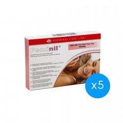 500 Cosmetics Feminil 30 cápsulas 5 unidades