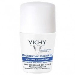 Vichy desodorante sin sales de aluminio roll-on 50 ml