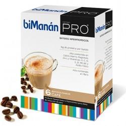 Bimanan batido sabor café 6 sobres