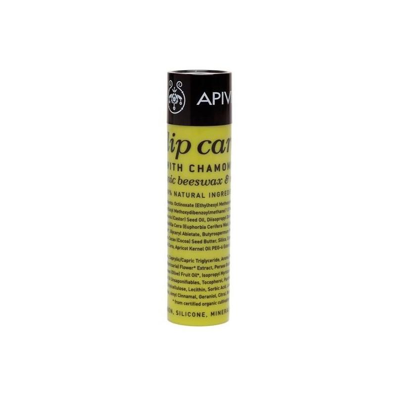 Apivita Lipcare con Camomila SPF15 4