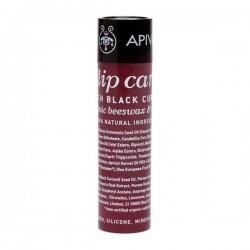 Apivita Lipcare Barra de labios con Grosella negra 4
