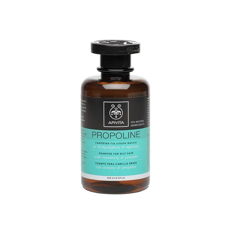 Apivita Propoline champú cabello graso 250 ml