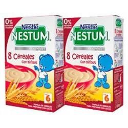Nestlé Nestum 8 Cereales con Bífidus duplo 2 x 500 g